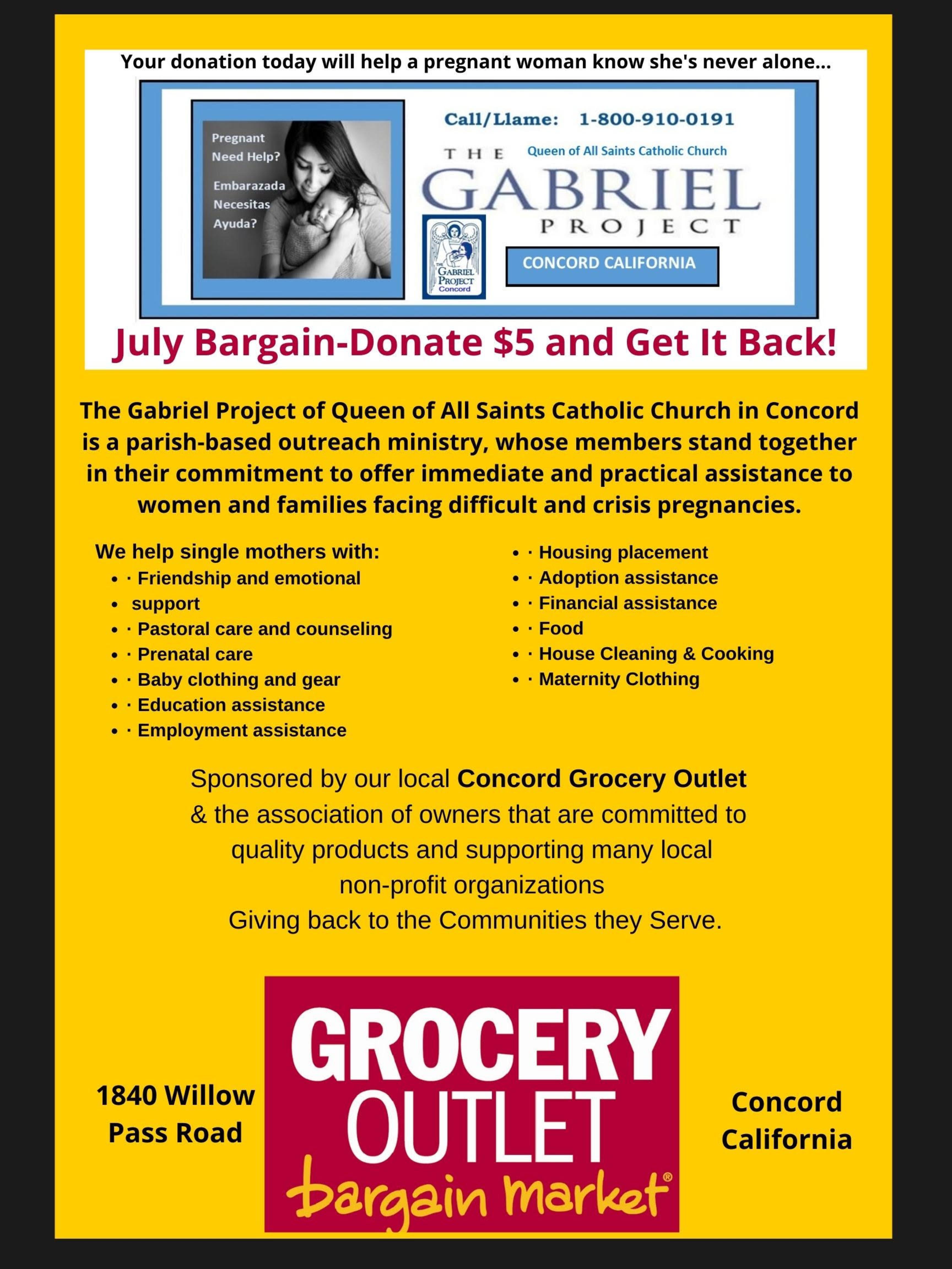 Gabriel Project July