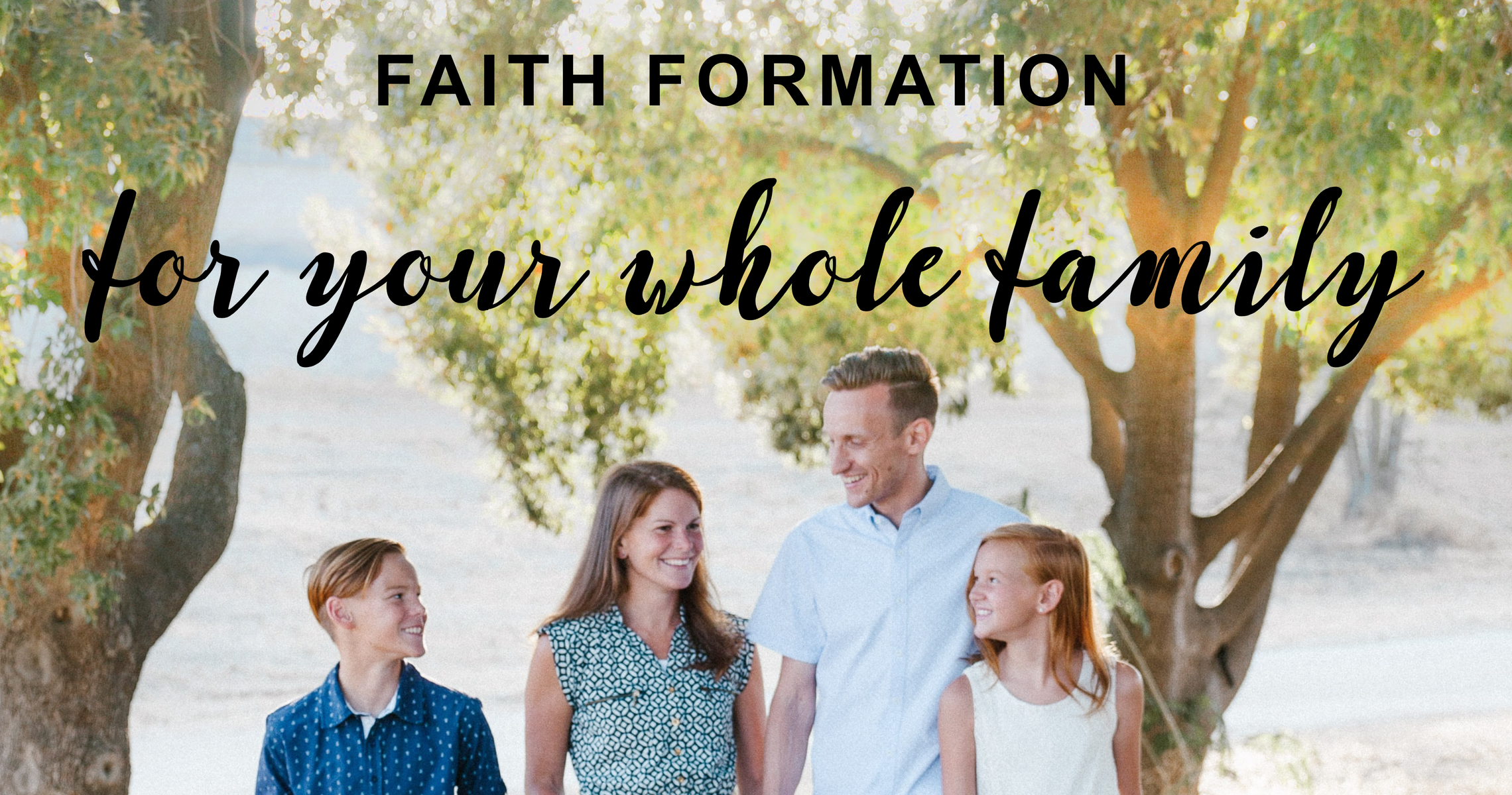 Faith Formation Banner