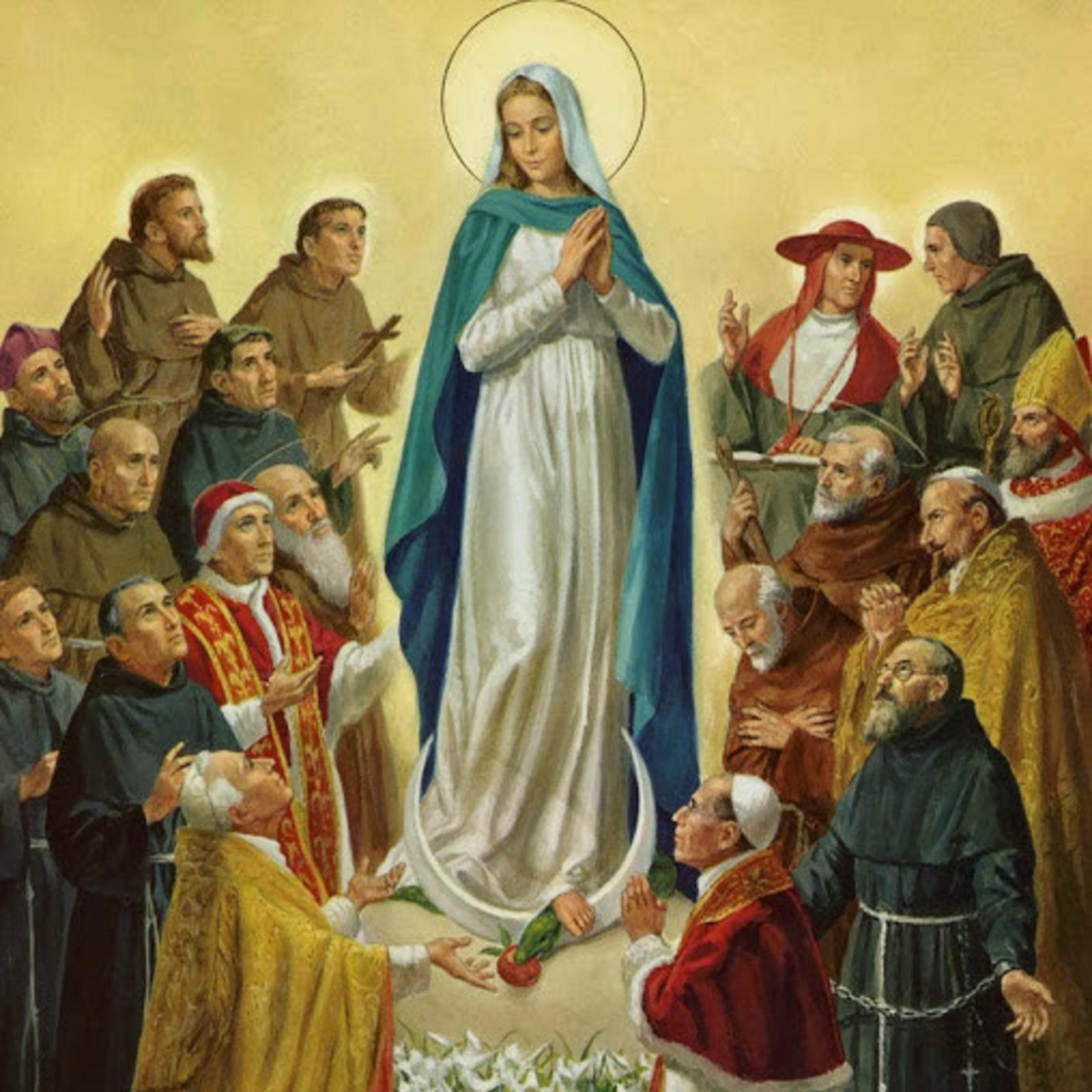 Queen Of All Franciscan Saints