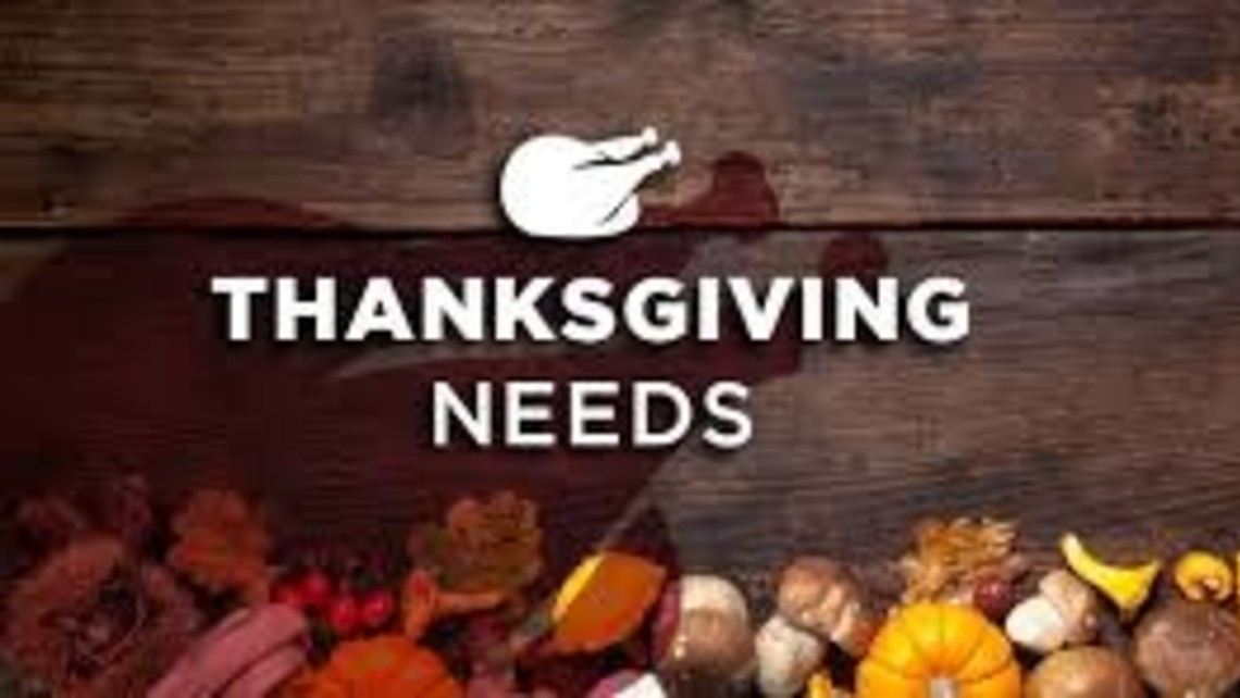 Thanksgiving Needs